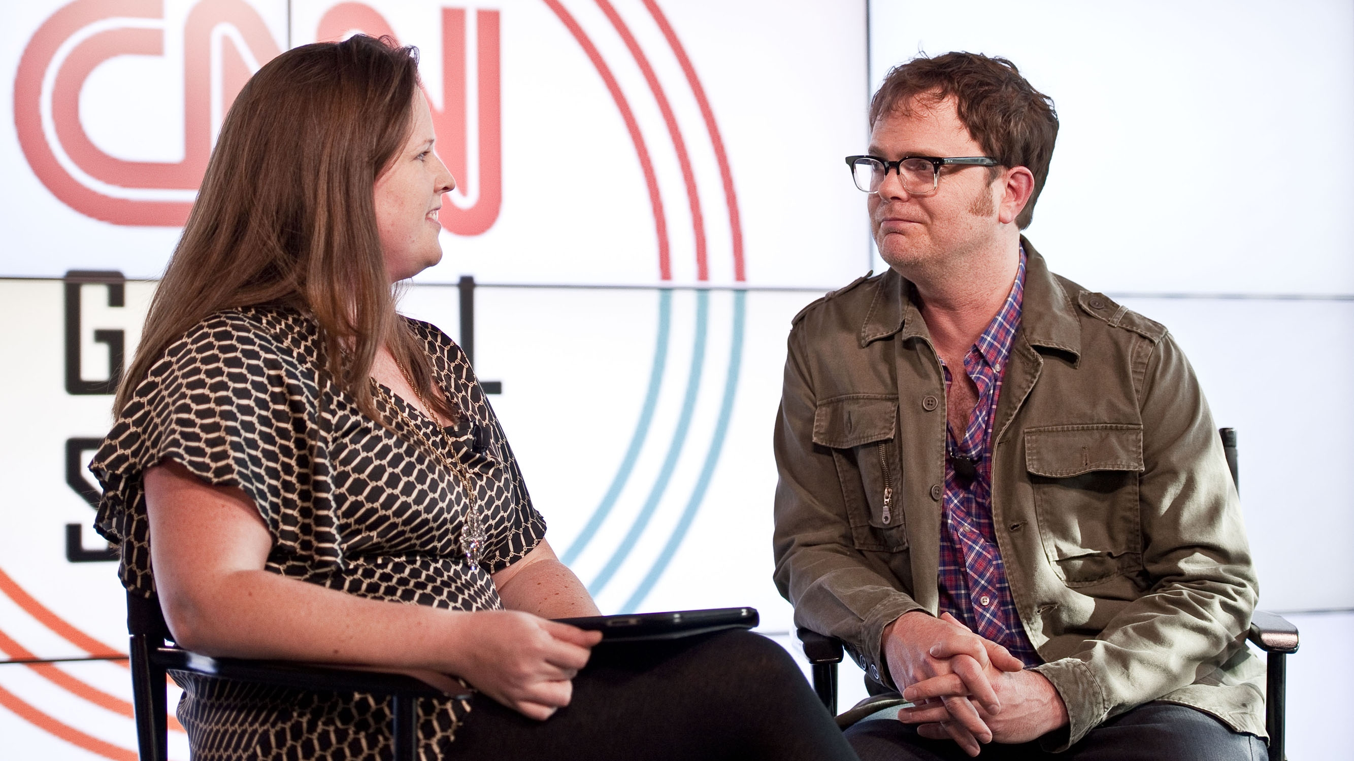 CNN @ SXSW: Rainn Wilson Interview