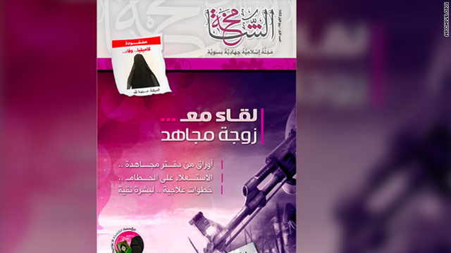 Jihadist magazine advises women on beauty, marrying mujaheddin