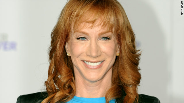 Kathy Griffin responds to Sarah Palin calling her a bully