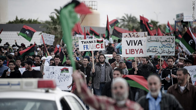 CNN/Opinion Research Corporation Poll – March 11-13 – Libya