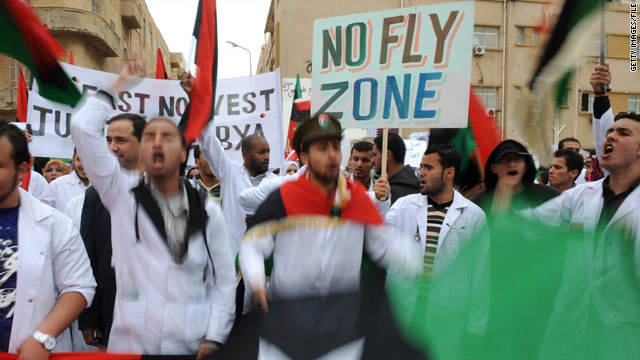 CNN Poll: Americans say yes to no fly zone, no to ground troops