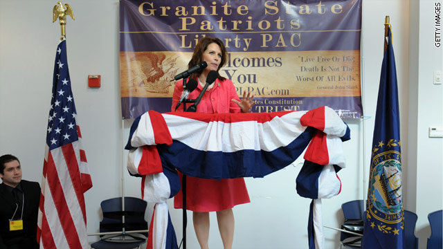 Palin, who? Bachmann steps it up and slips up as 2012 decision nears