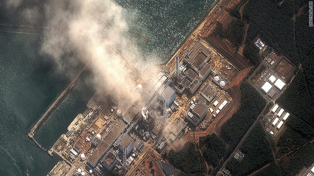 Japan quake live blog: Fire erupts in fourth reactor; radiation warning issued