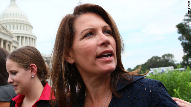 Bachmann: I made a mistake; media shows bias in reporting it