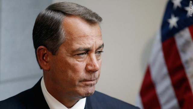 Boehner predicts House will pass three-week spending extension