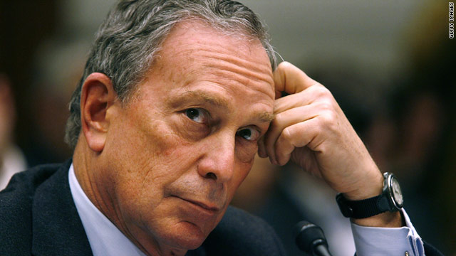 Bloomberg's approval hits new low