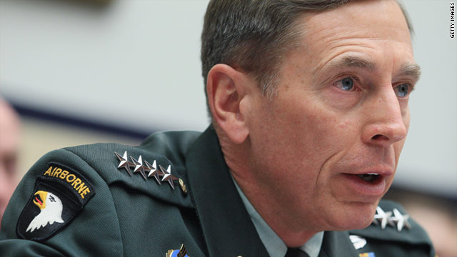 Petraeus: Combat troops will likely be part of July drawdown