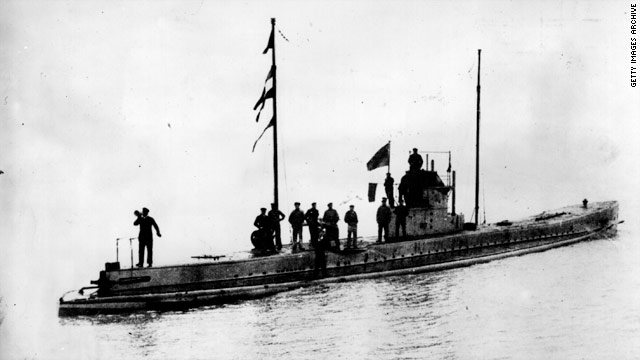 WWI German U-boat found sunk off Netherlands