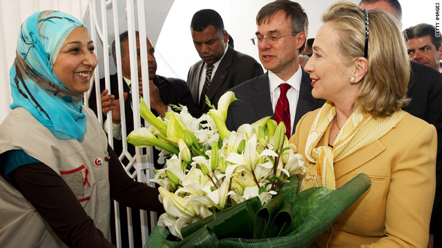 Divergent views on U.S. role amid Clinton's visit to Tunisia