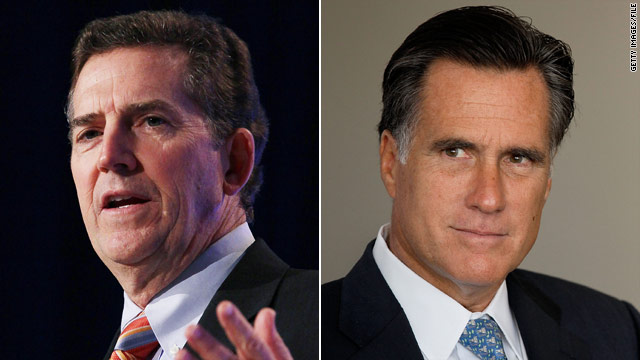 DeMint stands by Romney