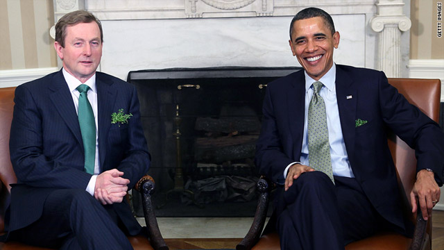 Obama hopes to see ancestor's birthplace during visit to Ireland