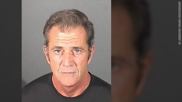 Mel Gibson gets booked