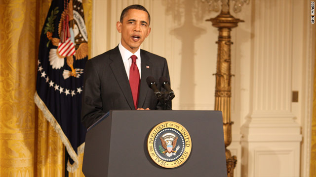 Reactions to President Obama&#039;s statement on Libya