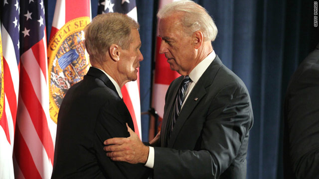First Obama, now Biden, to help Nelson in Florida