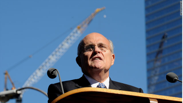 Giuliani back to New Hampshire, but is he serious about running?