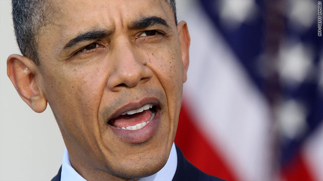 Obama lays out what he calls non-negotiable terms for Libya