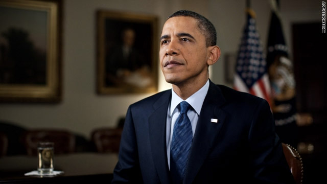 In weekly address, Obama makes case for Libya