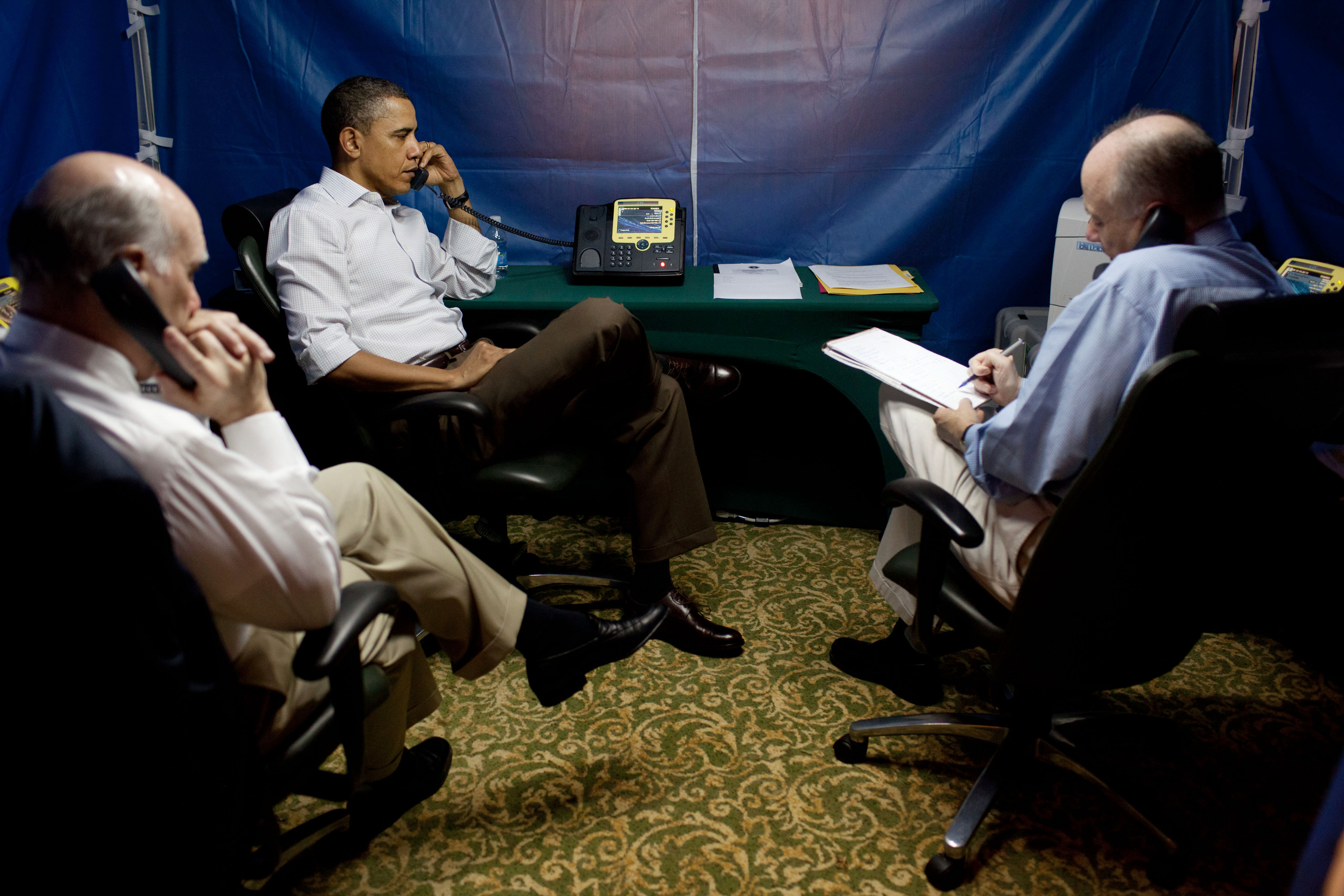 Obama briefed on Libya in Brazil