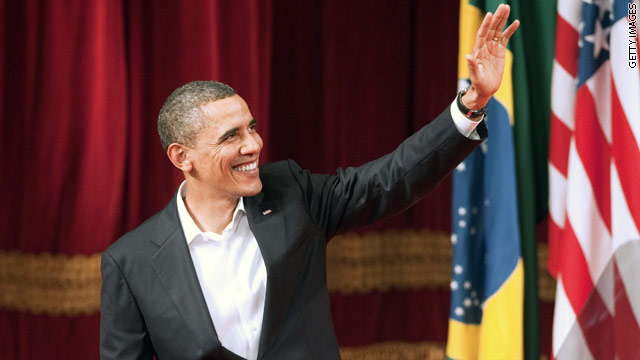 Obama Rio-re-bound for 2016 Olympics