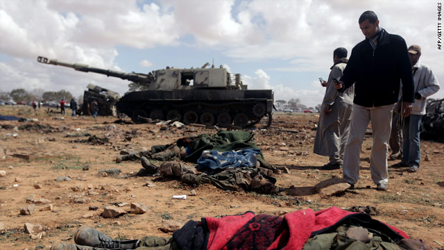 Libya live blog: Libyan military calls for cease-fire