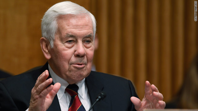 Lugar questions U.S. involvement in Libya