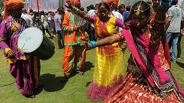Photos: Holi festival of colors