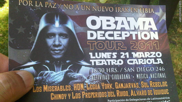 Anti-Obama rally