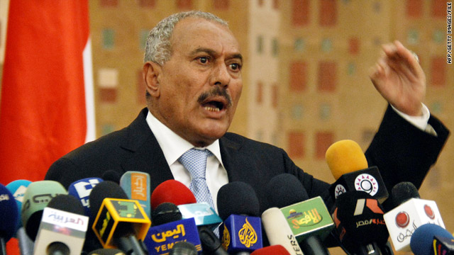 Yemeni president mulling deal that would have him stay through 2011