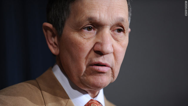 Kucinich challenges fellow Democrat to keep his job