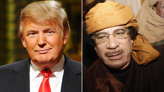 Trump: I 'screwed' Gadhafi