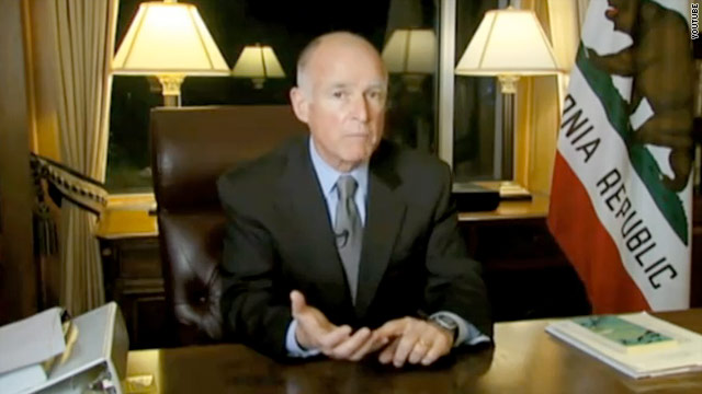 Gov. Jerry Brown tells California voters to 'make the hard choice'