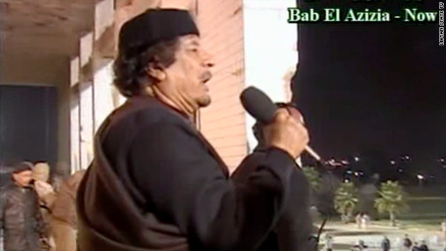 Libya live blog: 'Libyans are laughing at these rockets,' Gadhafi says