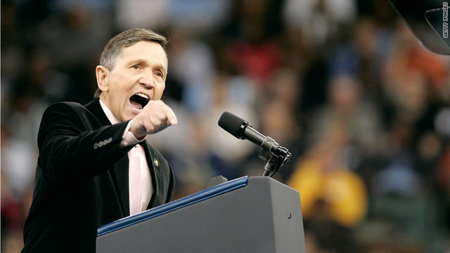 Kucinich critique turns into push for funds