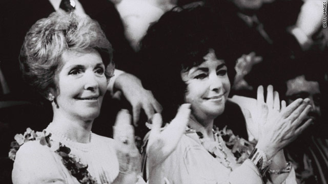 Elizabeth Taylor was an icon in Washington