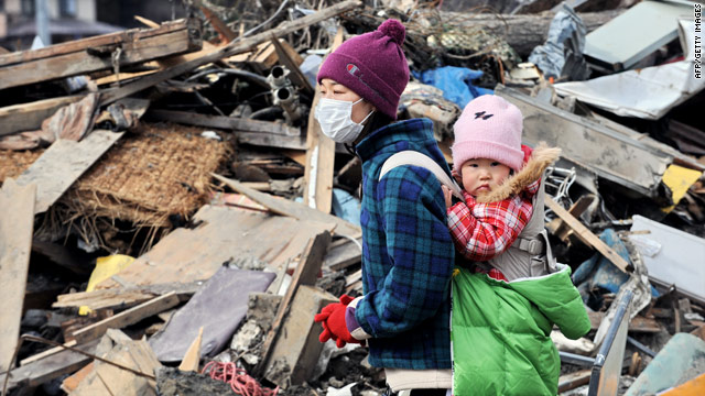 Japan quake live blog: Bottled water to be distributed to homes in Tokyo with infants