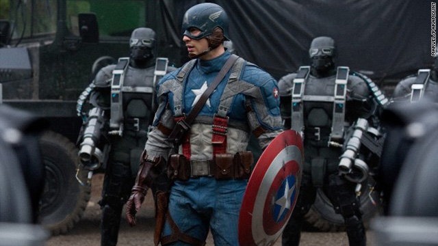 Trailer park: 'Captain America' bulks up