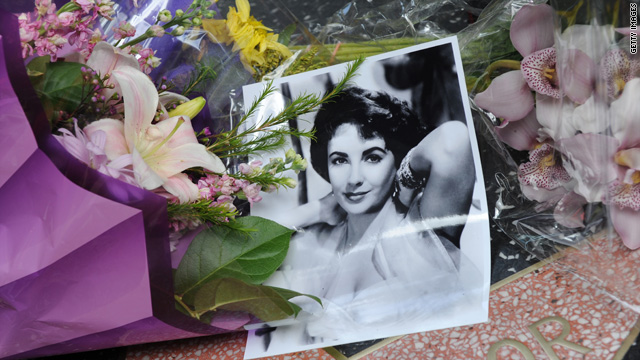 Service for Elizabeth Taylor to be held today