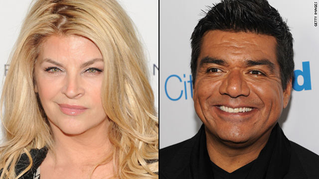 Kirstie Alley slams George Lopez for pig joke
