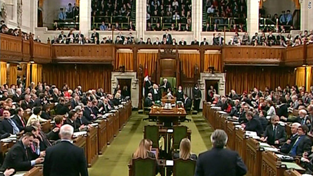 Canadian lawmakers vote to dissolve government, call elections