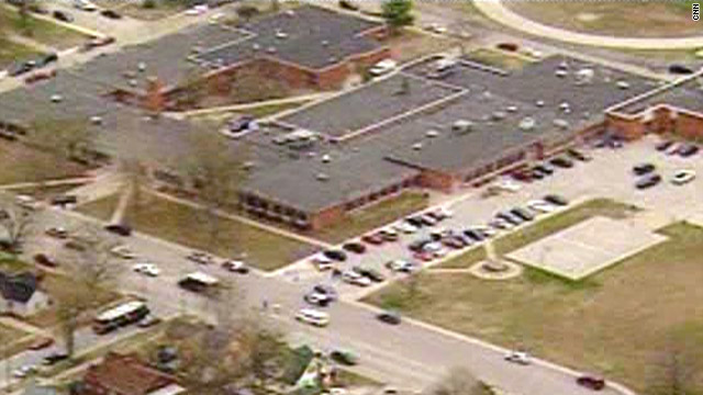 Person shot at Indiana middle school