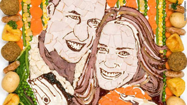 Meat the artist – William and Kate royally rendered in roast