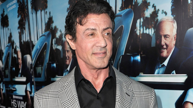Sylvester Stallone launching menswear line