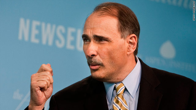 Axelrod: Gingrich to blame for Washington gridlock