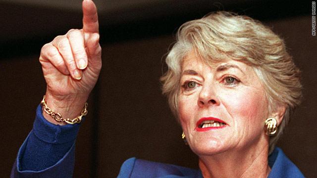 Geraldine Ferraro dies at age 75