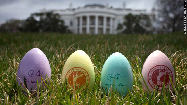 White House reveals details for Easter Egg roll