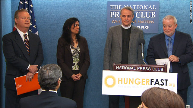 Hunger strike aims at congressional cuts