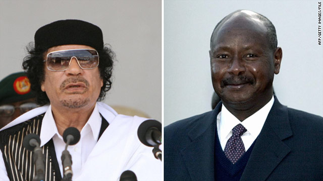 Uganda&#039;s President on the Gadhafi he knows