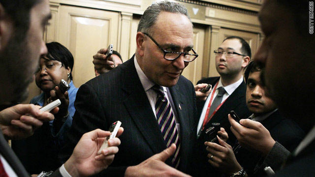 Schumer's message mishap