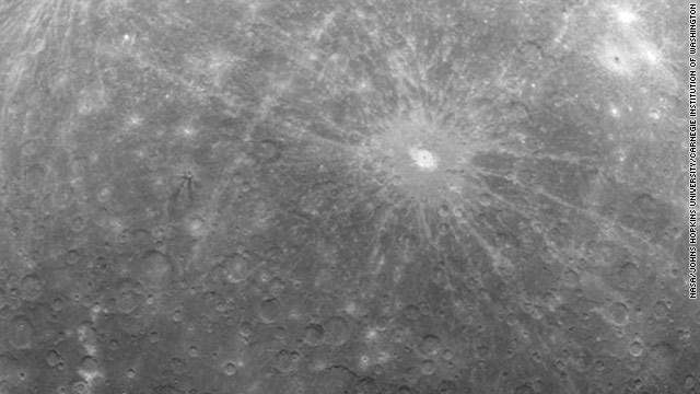 First image of Mercury from orbit released