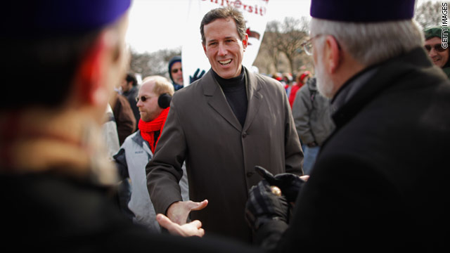 Santorum blames &#039;abortion culture&#039; for problems with Social Security